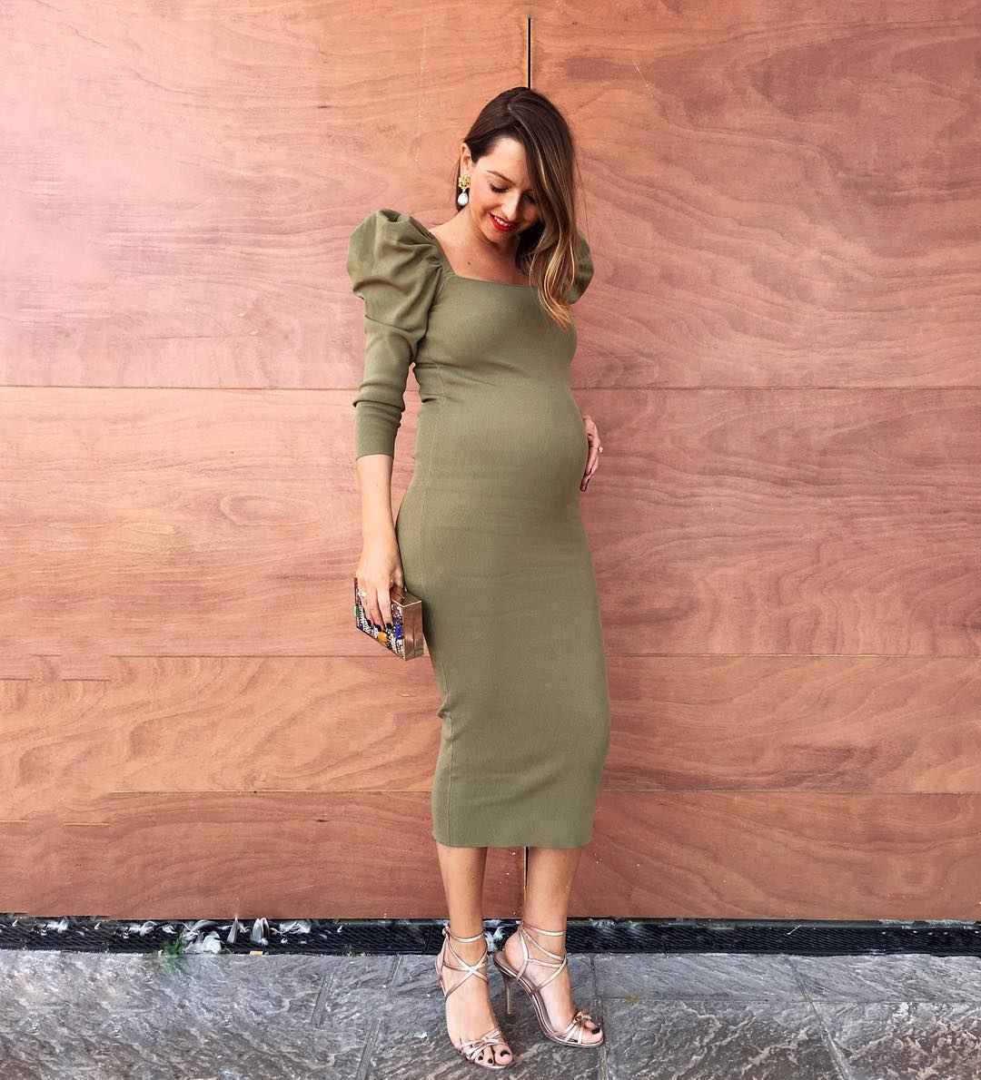 Праздничные платья для беременных фото_7