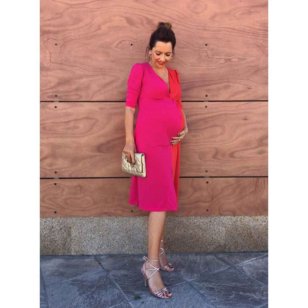 Праздничные платья для беременных фото_4
