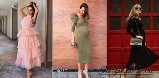 Праздничные платья для беременных фото_1