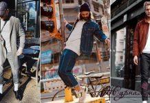 Модные мужские луки осень-зима 2020-2021 фото идеи