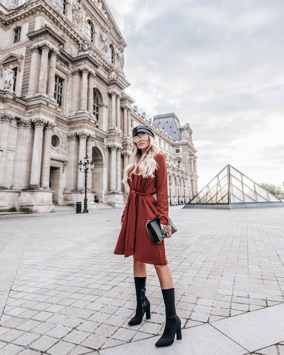 Модные платьяосень-зима 2019-2020 для женщин 30-40 лет фото_6