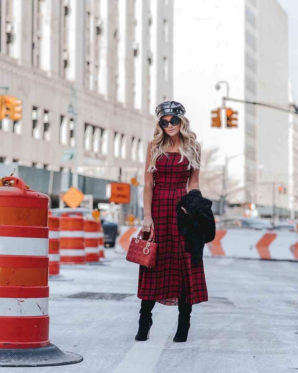 Модные платьяосень-зима 2019-2020 для женщин 30-40 лет фото_4