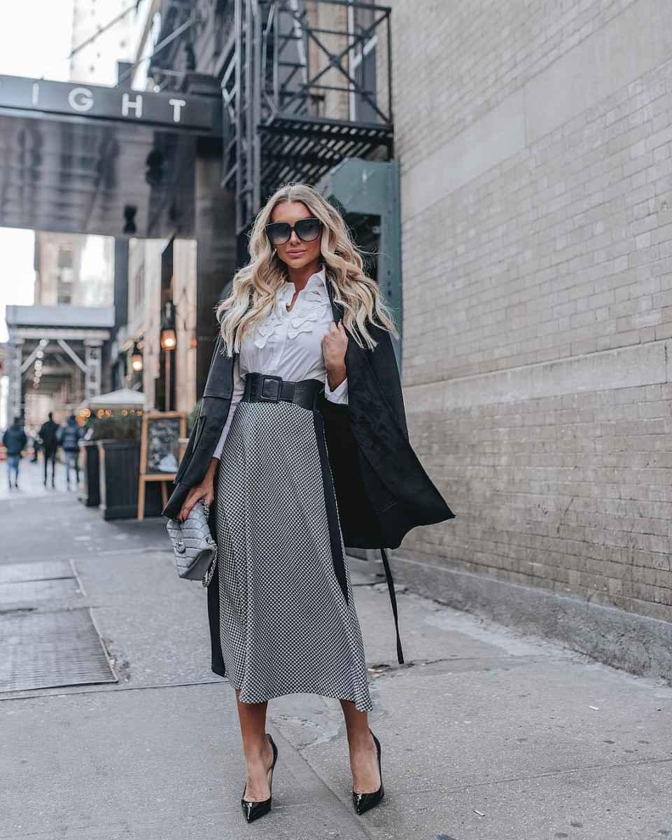 Модные юбки осень-зима 2019-2020 для женщин 30-40 лет фото_1