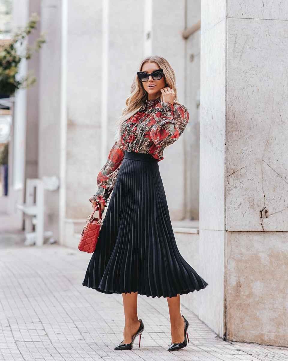 Модные юбки осень-зима 2019-2020 для женщин 30-40 лет фото_2