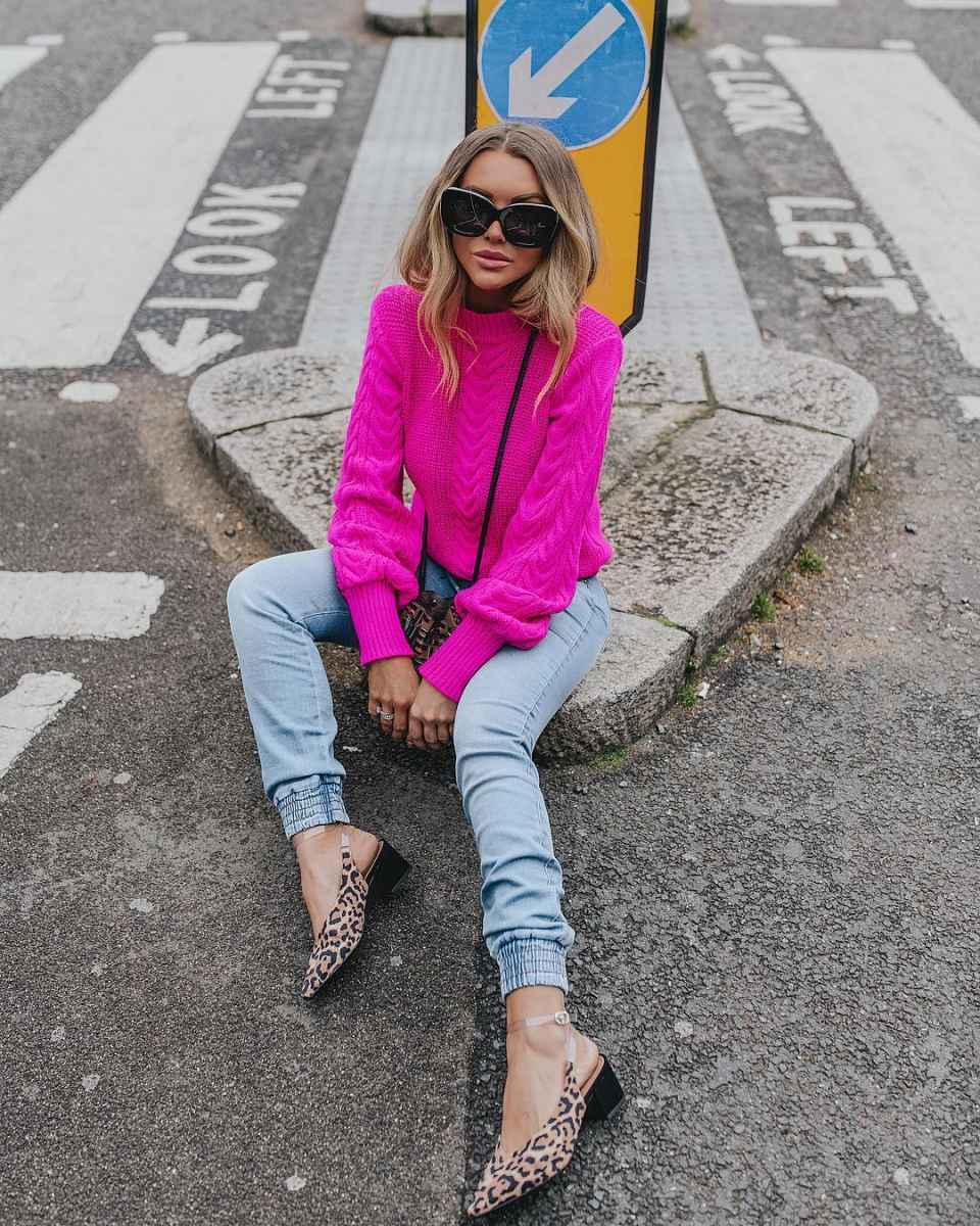Модные джинсыосень-зима 2019-2020 для женщин 30-40 лет фото_1