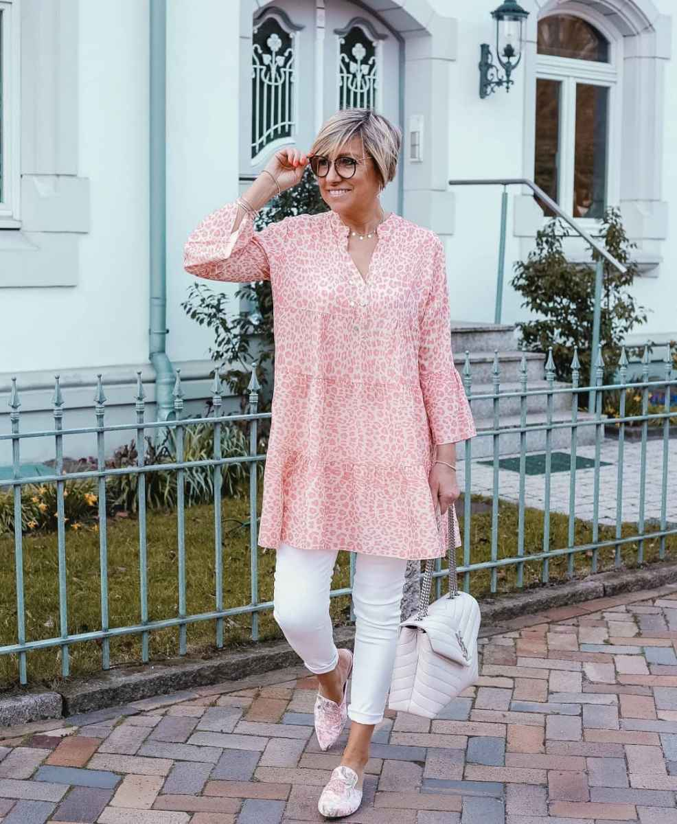 Модные платья для женщин 50 лет осень-зима 2019-2020 фото_3