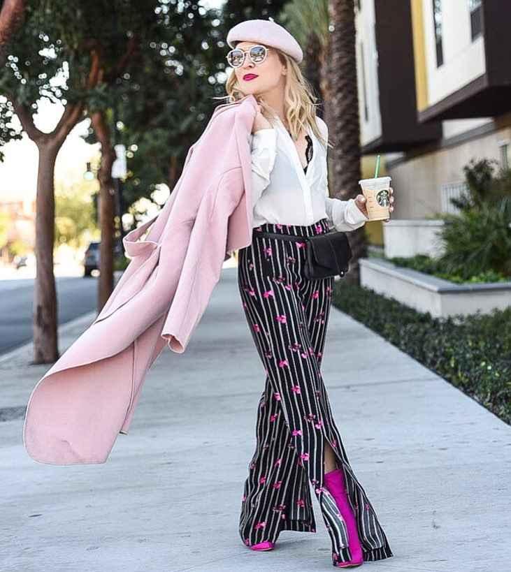 Модные брюкиосень-зима 2019-2020 для женщин 30-40 лет фото_9