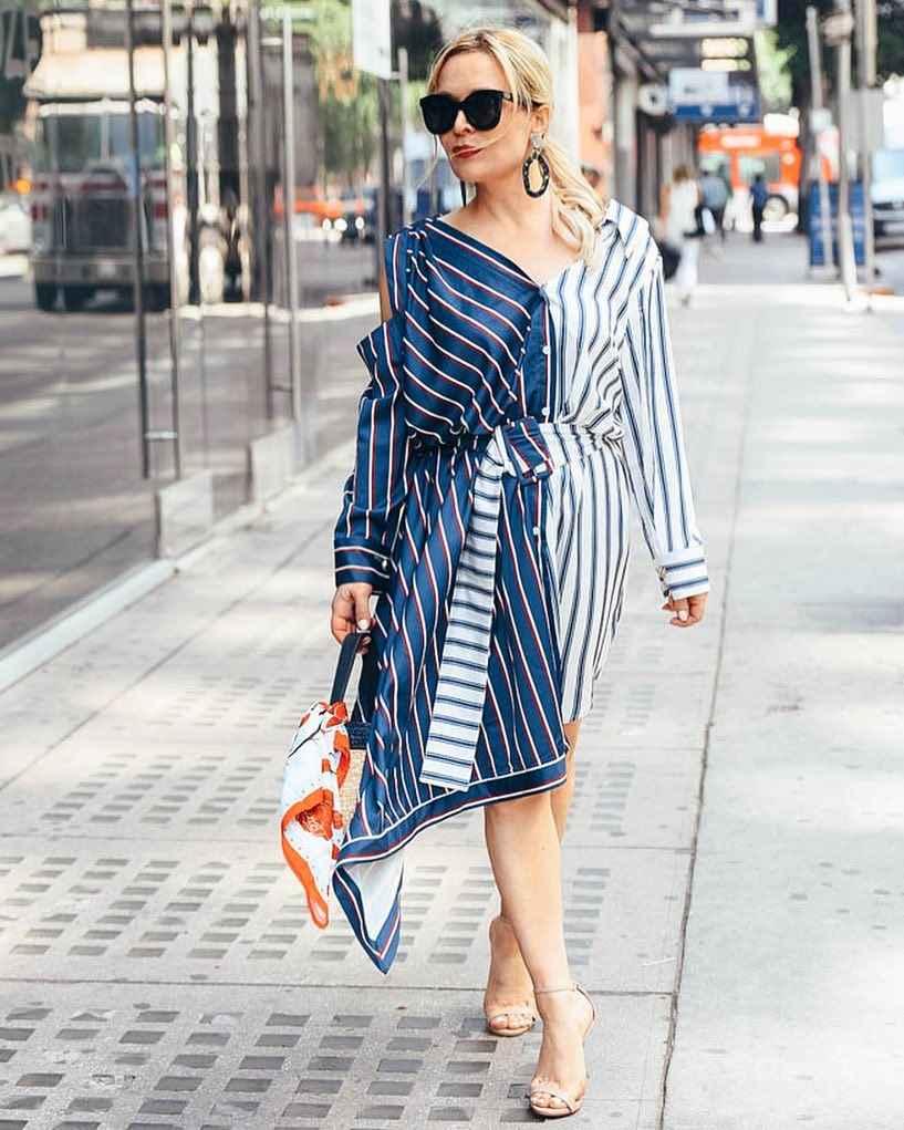 Модные платья для женщин 50 лет осень-зима 2019-2020 фото_58