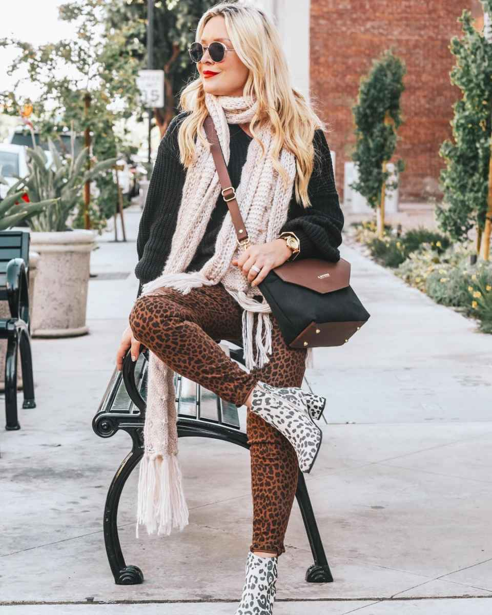 Модные брюкиосень-зима 2019-2020 для женщин 30-40 лет фото_8