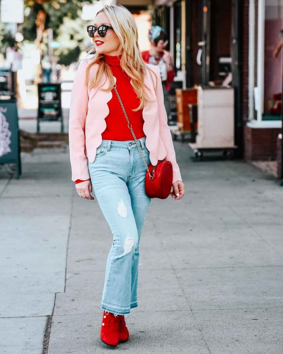 Модные джинсыосень-зима 2019-2020 для женщин 30-40 лет фото_3