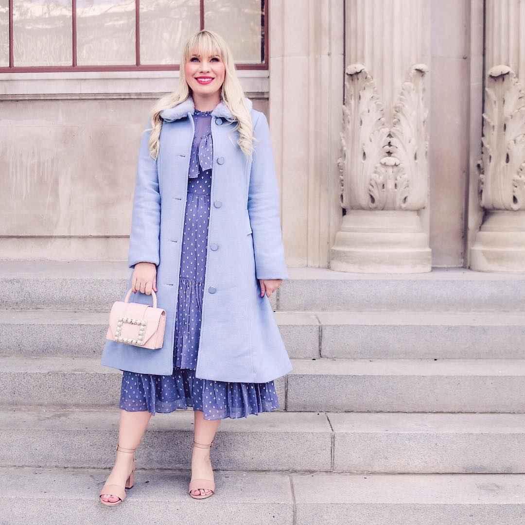 Модные платья для женщин 50 лет осень-зима 2019-2020 фото_50