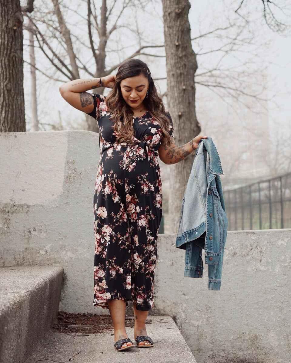Праздничные платья для беременных фото_15