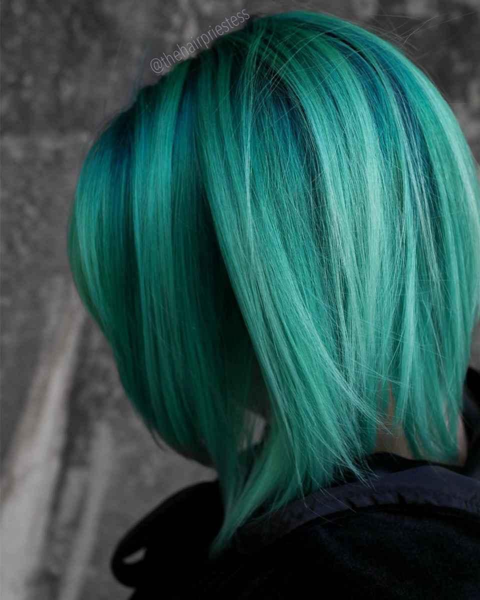Лесные зеленые волосы