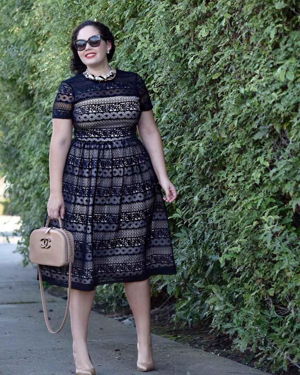 Деловые платья для полных женщин фото_1