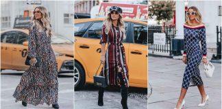 Модные фасоны платьев осень 2019 фото
