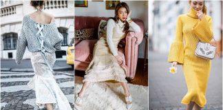 Вязаная мода осень-зима 2019-2020 фото