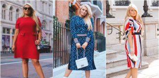 Деловые платья для полных женщин фото