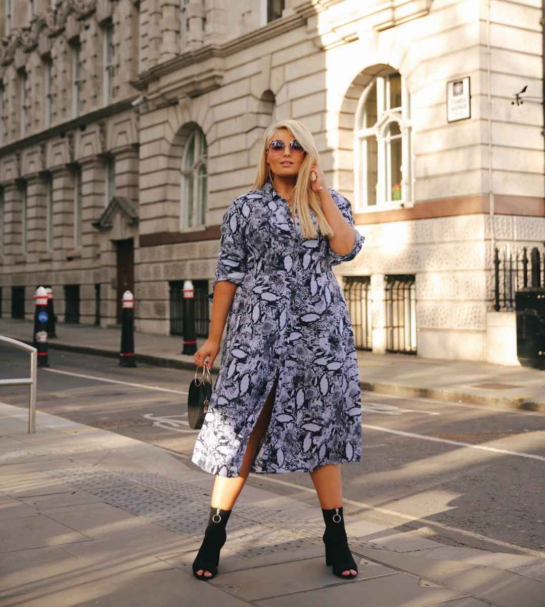 Деловые платья для полных женщин фото_4