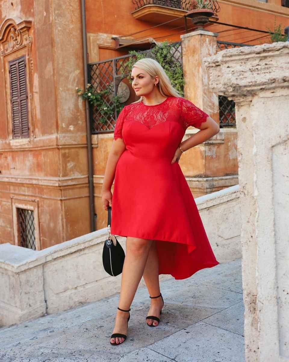 Деловые платья для полных женщин фото_7
