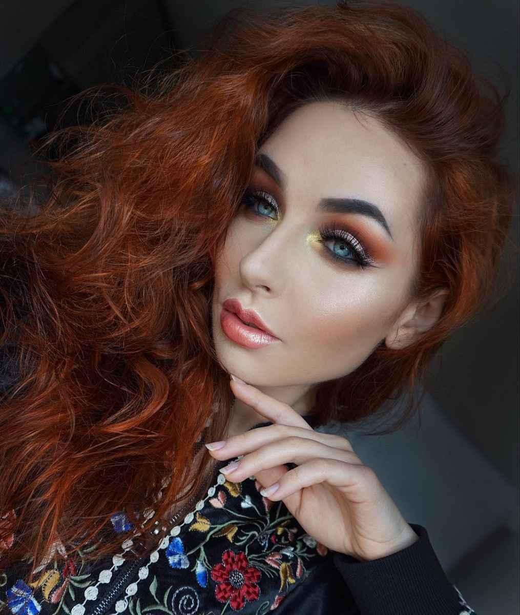 Самый красивый осенний макияж фото_1