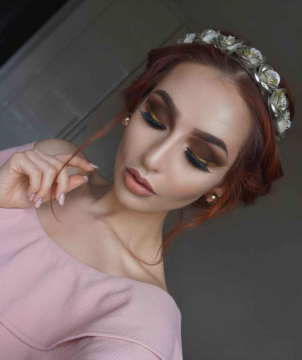 Самый красивый вечерний макияж для осени фото_4