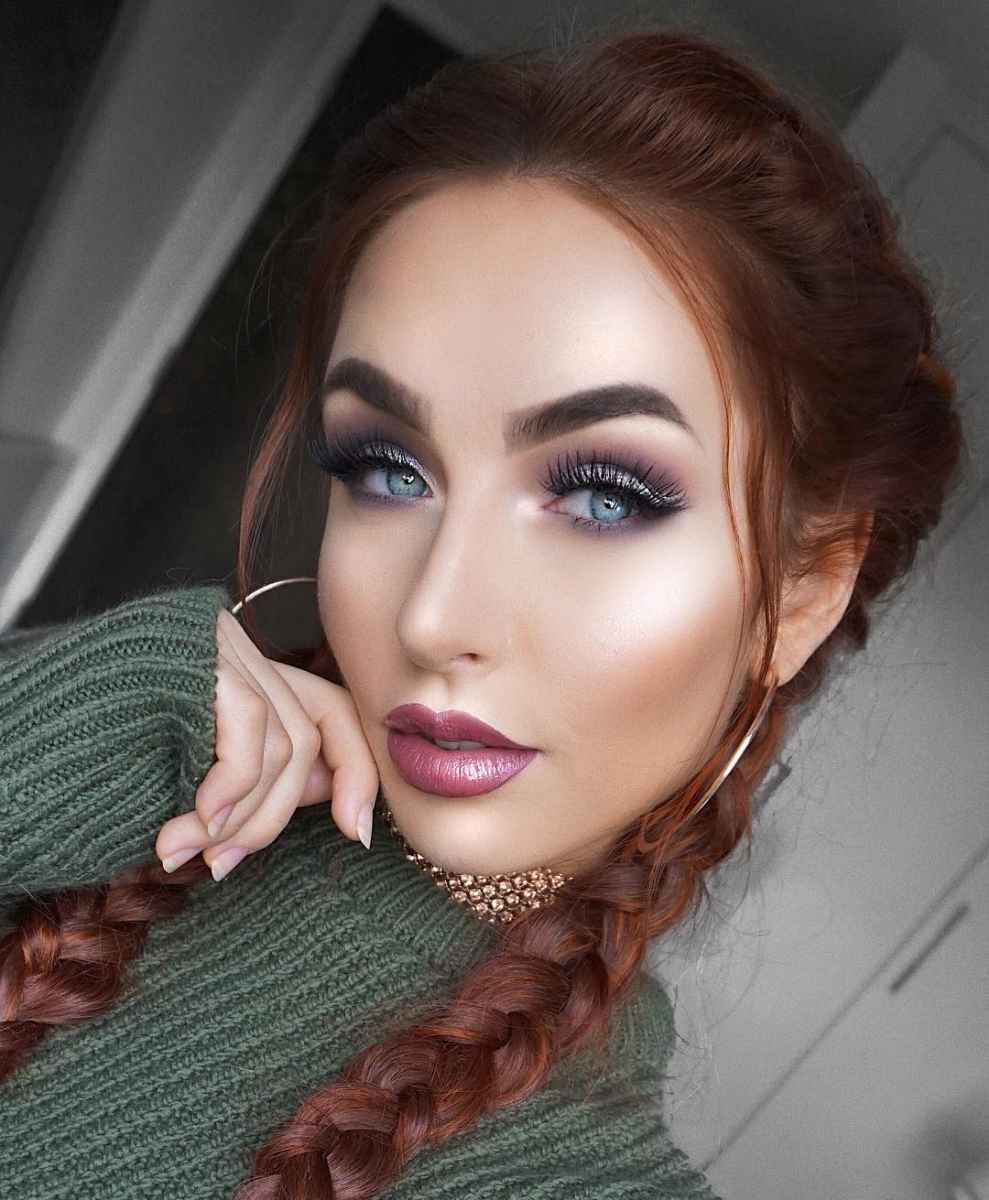 Самый красивый дневной макияж для осени фото_4