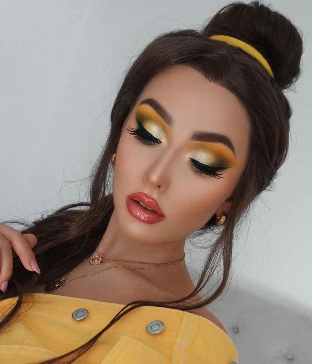 Самый красивый осенний макияж фото_3