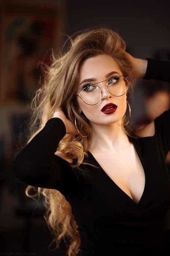 Модные очки для зрения женские 2019-2020 фото_25