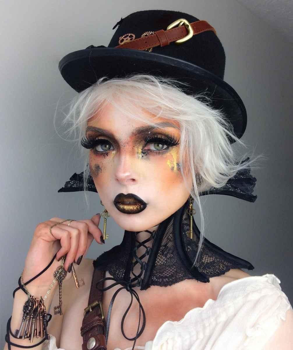 Макияж на Хэллоуин 2019-2020 фото_16