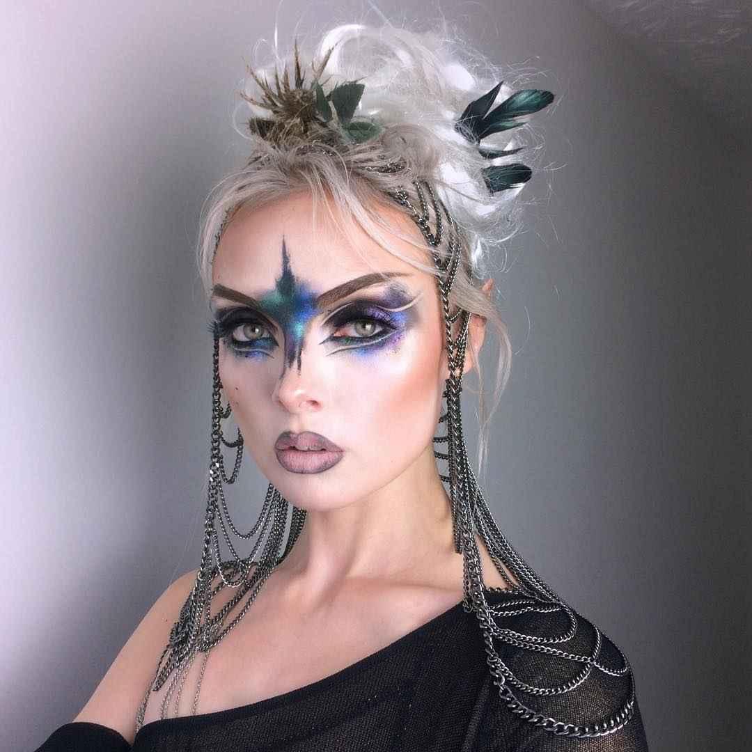 Макияж на Хэллоуин 2019-2020 фото_11