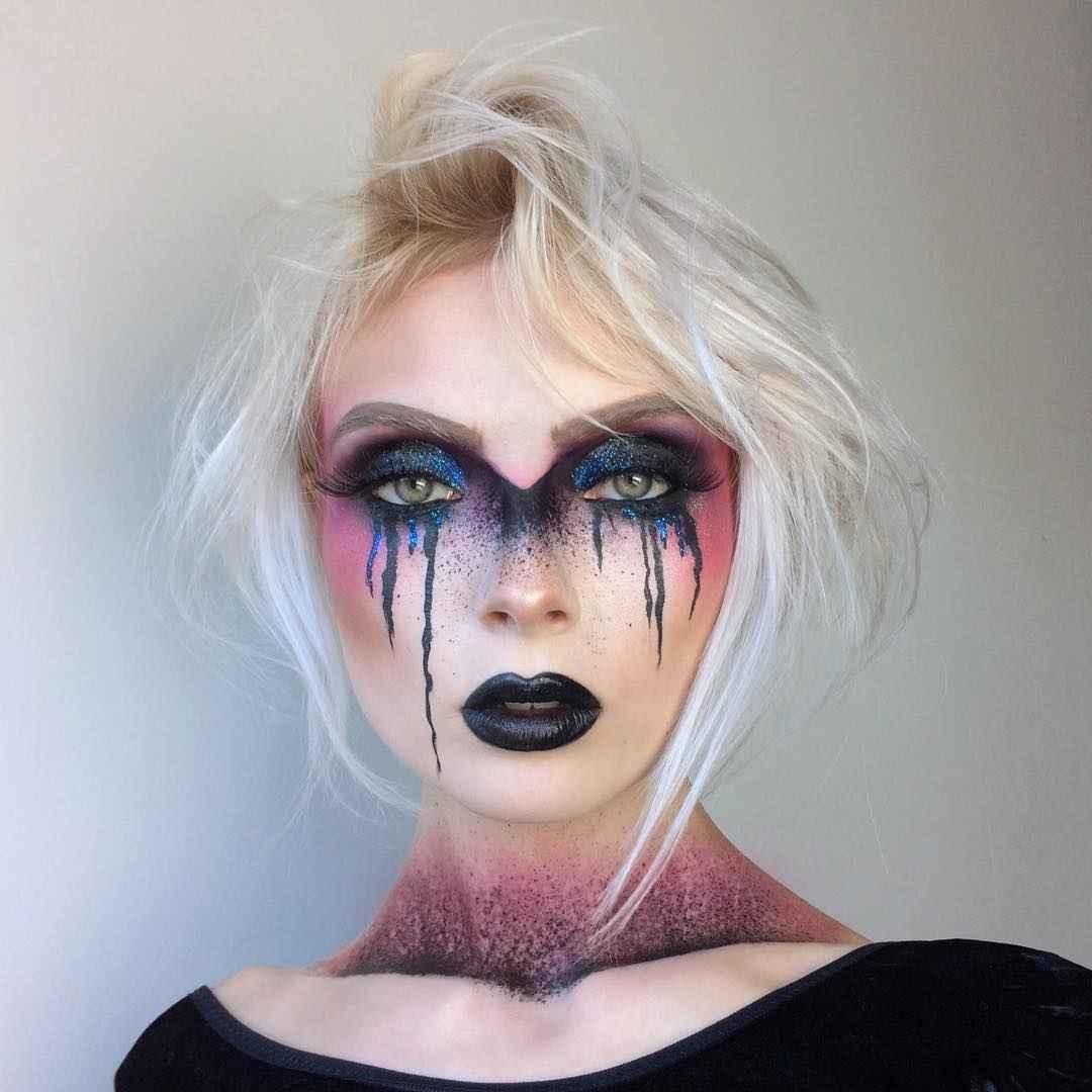 Макияж на Хэллоуин 2019-2020 фото_9