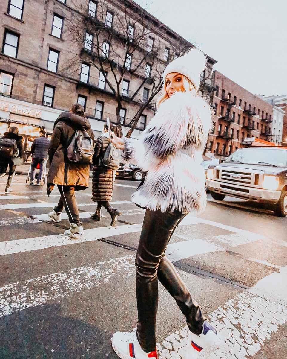 Модные женские луки осень-зима 2019-2020 фото_68