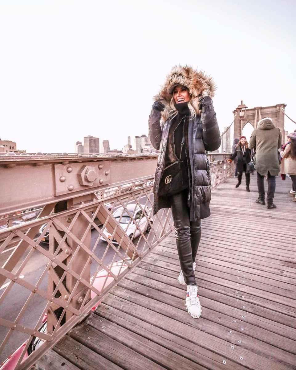 Модные женские луки осень-зима 2019-2020 фото_67