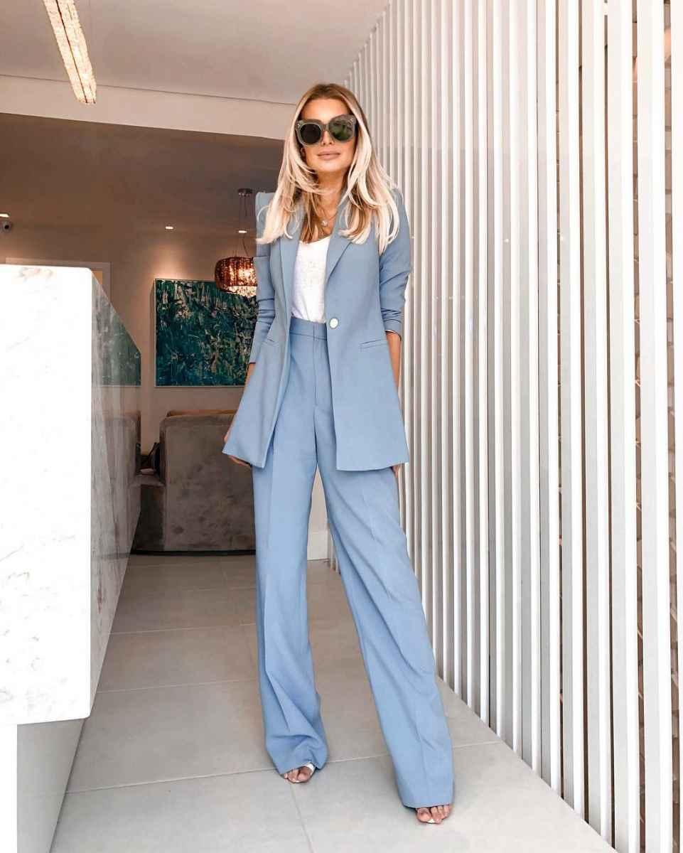 Модные луки для собеседования на работу женщине фото_147