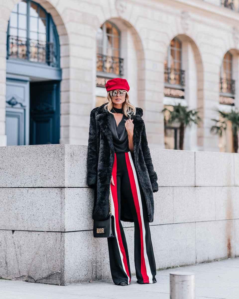 Модные женские луки осень-зима 2019-2020 фото_60