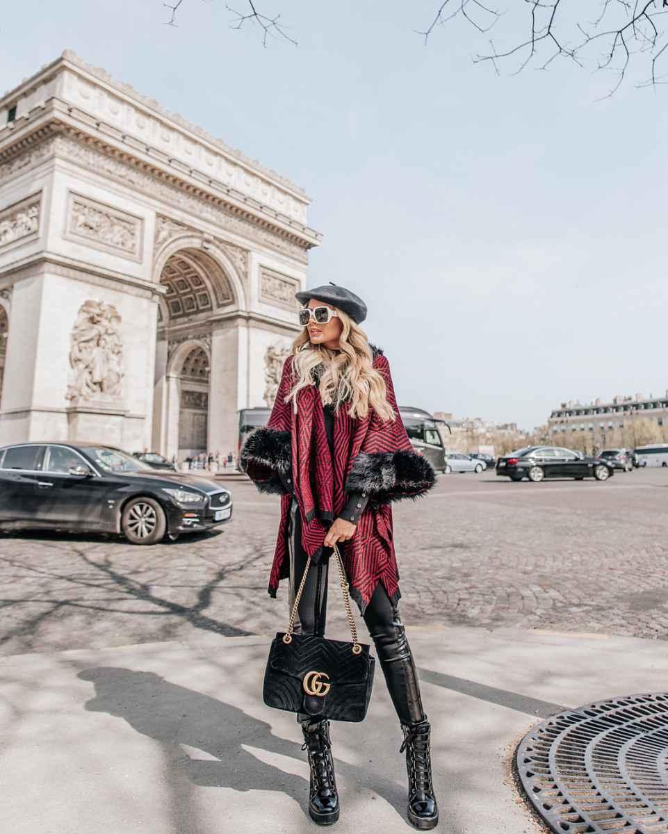 Модные женские луки осень-зима 2019-2020 фото_59