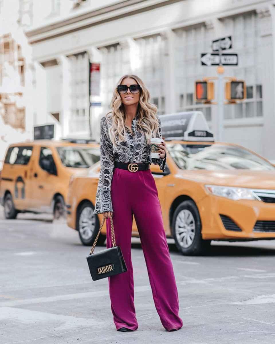 Модные луки для собеседования на работу женщине фото_131