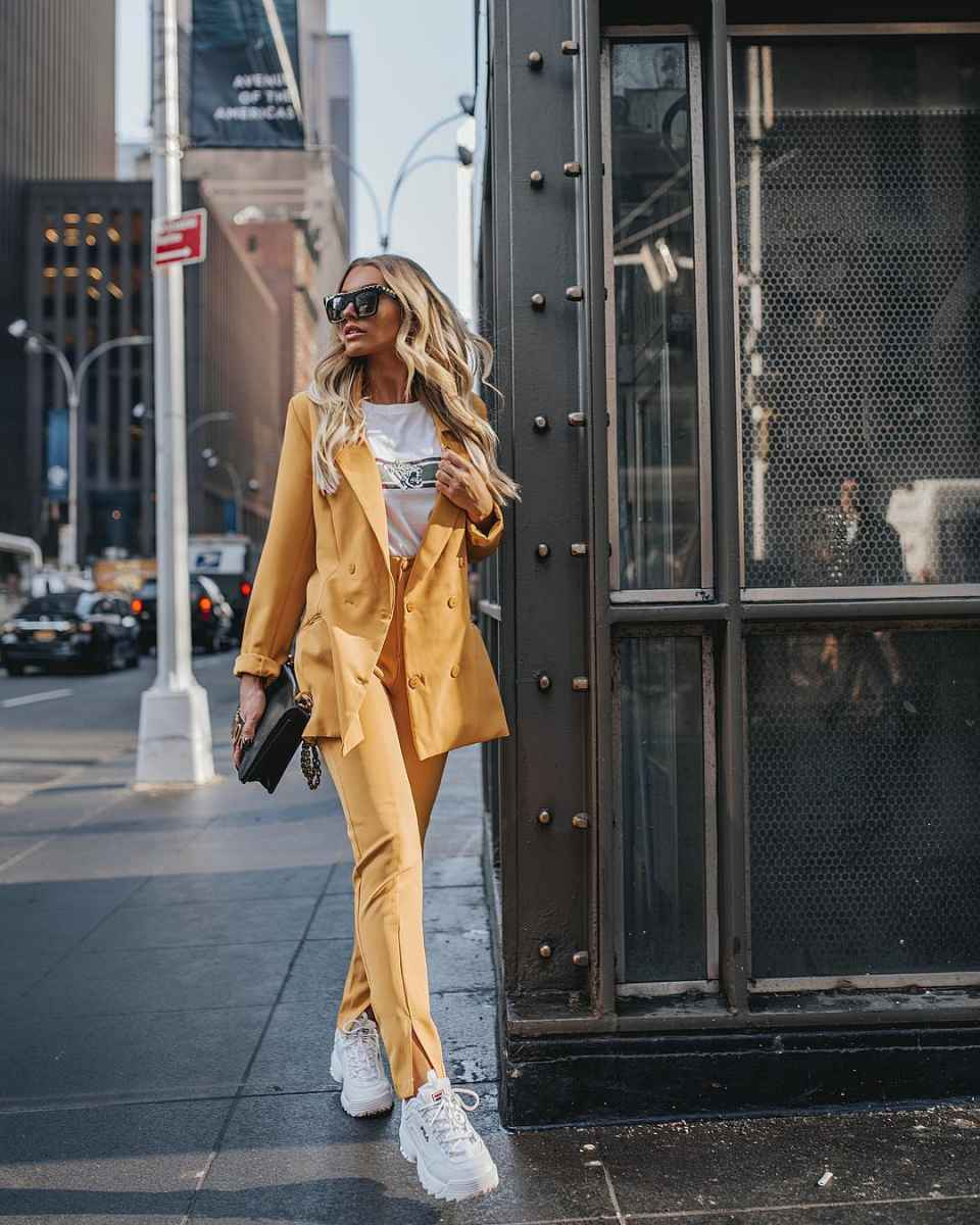 Модные женские луки осень-зима 2019-2020 фото_55