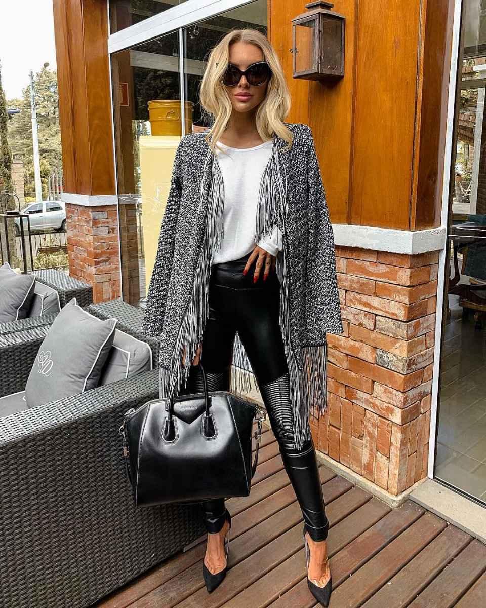 Модные женские луки осень-зима 2019-2020 фото_51