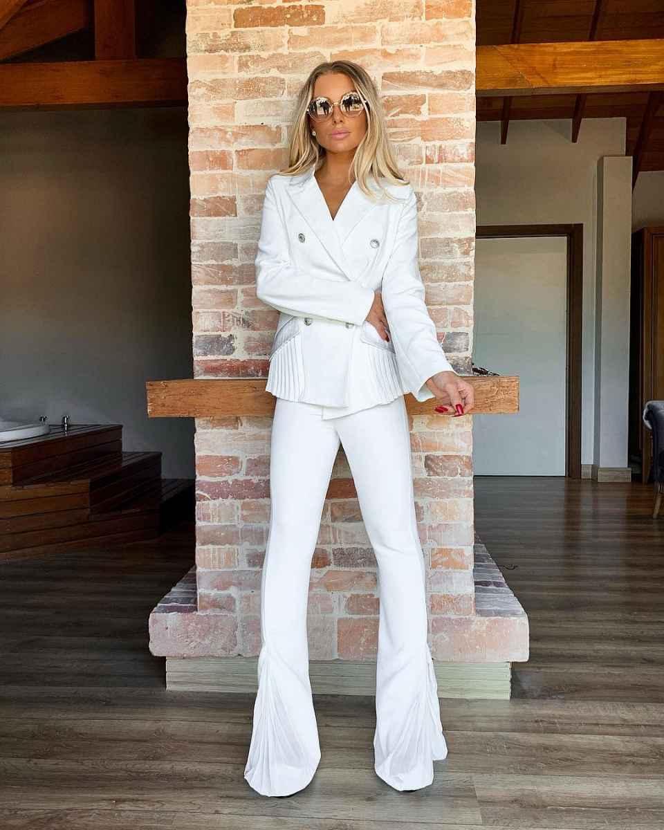 Модные луки для собеседования на работу женщине фото_119