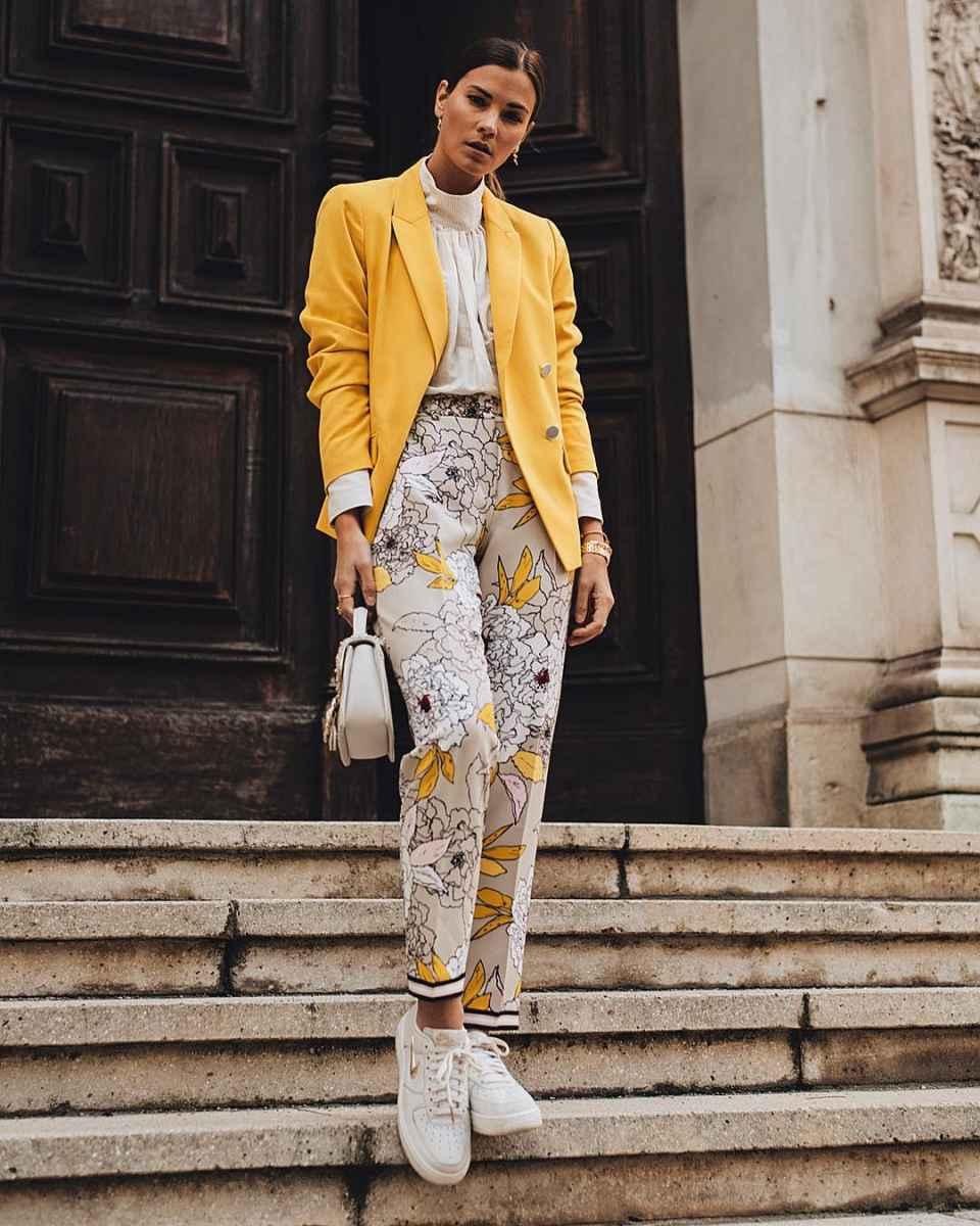 Модные женские луки осень-зима 2019-2020 фото_83