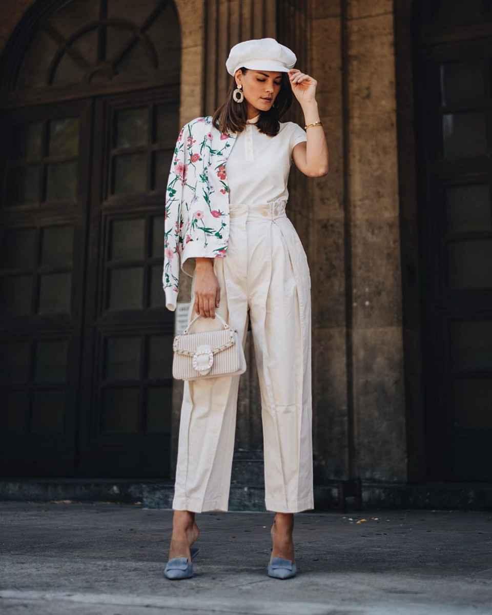 Модные женские луки осень-зима 2019-2020 фото_72