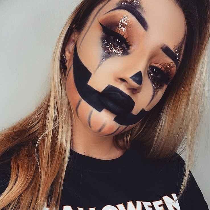 Макияж на Хэллоуин 2019-2020 фото_66
