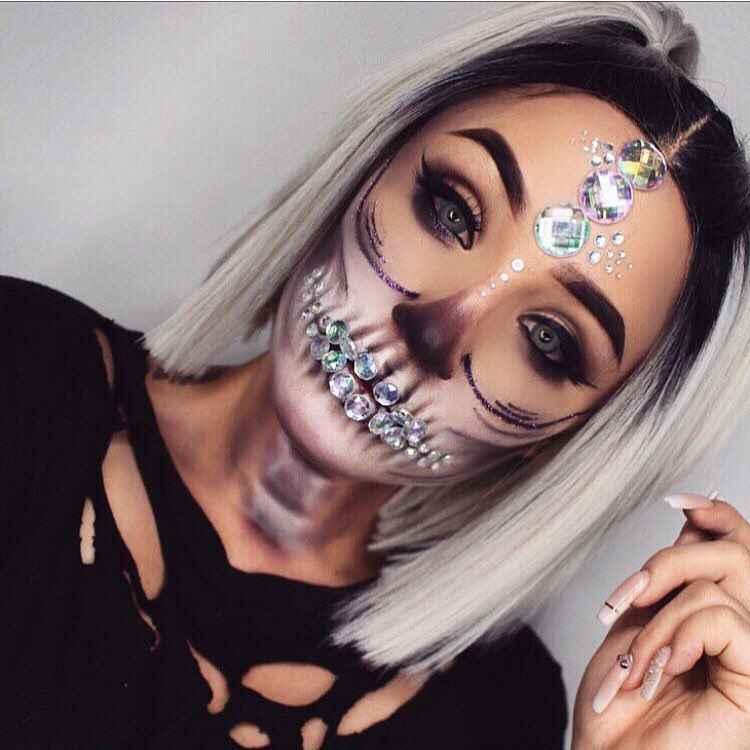 Макияж на Хэллоуин 2019-2020 фото_61