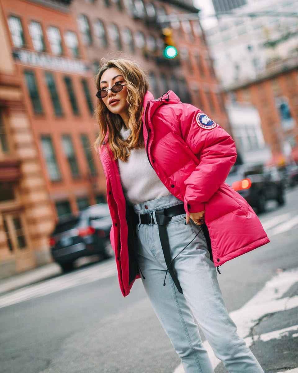 Модные женские луки осень-зима 2019-2020 фото_28