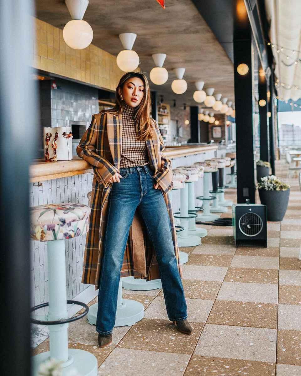 Модные женские луки осень-зима 2019-2020 фото_18