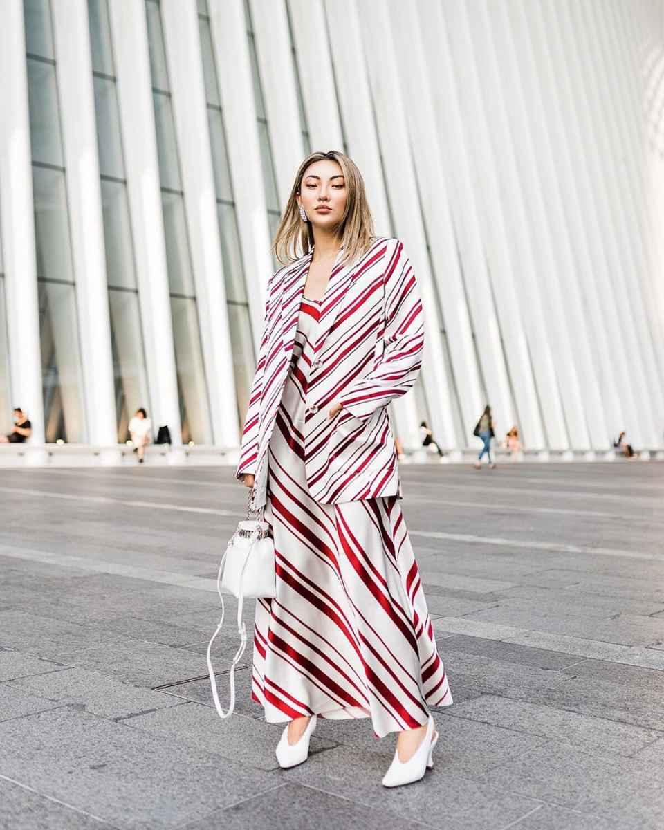 Модные женские луки осень-зима 2019-2020 фото_5