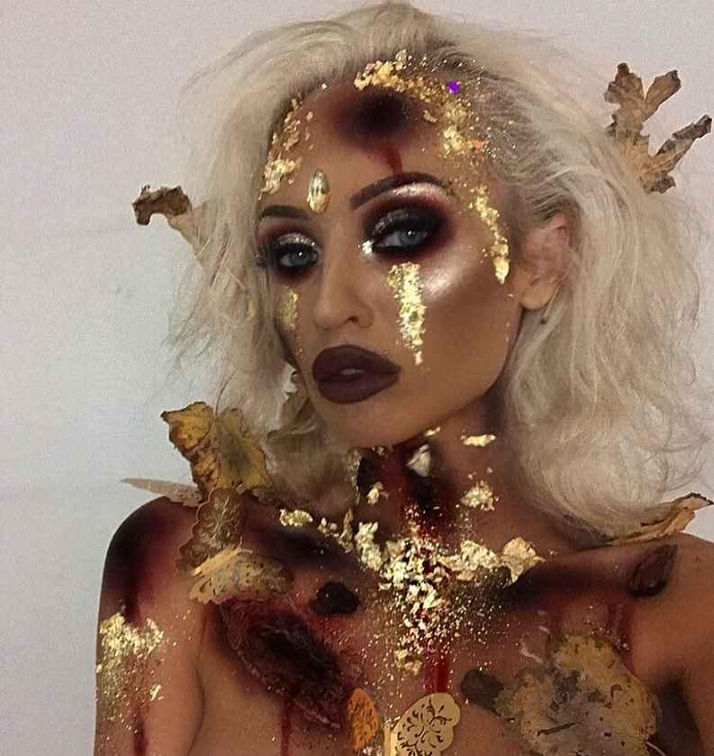 Макияж на Хэллоуин 2019-2020 фото_36