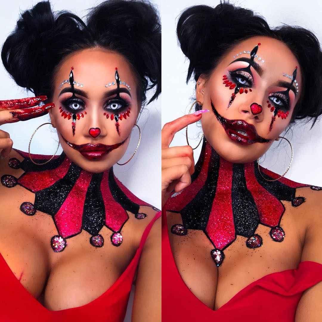 Макияж на Хэллоуин 2019-2020 фото_54