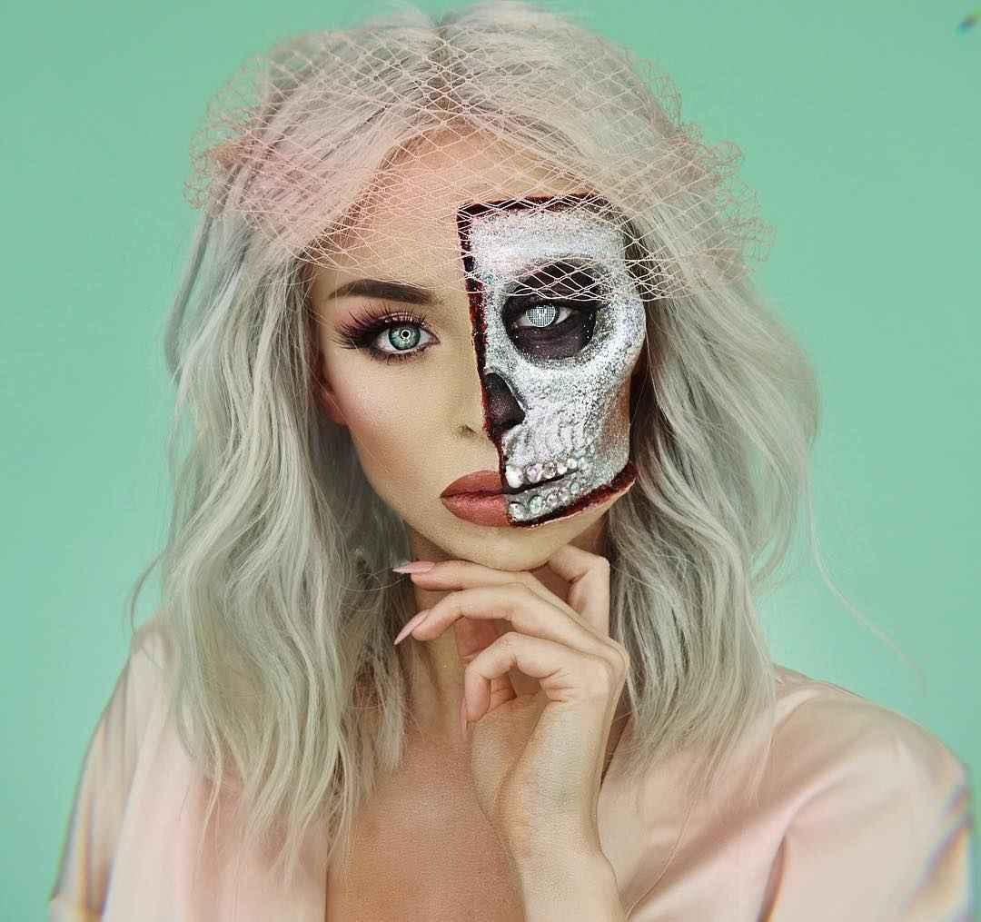 Макияж на Хэллоуин 2019-2020 фото_43
